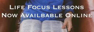 Life Focus Lessons