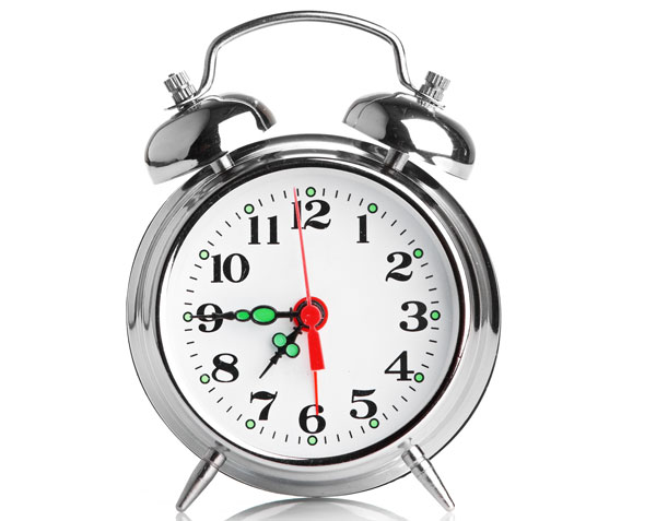 Lesson 104- The Clock is Ticking